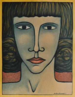 Portraits imaginaires Papier buvard